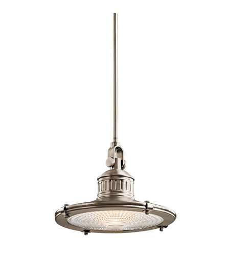 Kichler Lighting Sayre 1 Light Pendant in Antique Pewter 42437AP