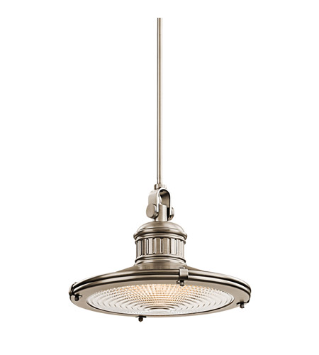 Kichler Lighting Sayre 1 Light Pendant in Antique Pewter 42438AP