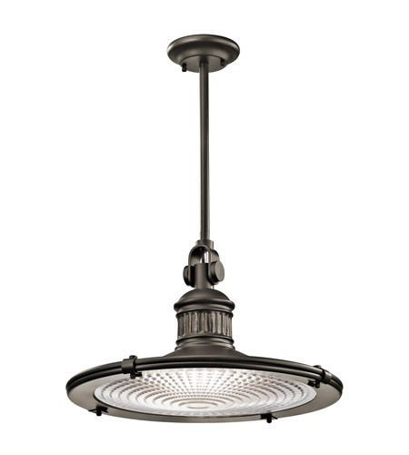 Kichler Sayre 1 Light Pendant in Olde Bronze 42440OZ photo