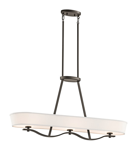 Kichler Lighting Glissade 3 Light Chandelier in Olde Bronze 42451OZ