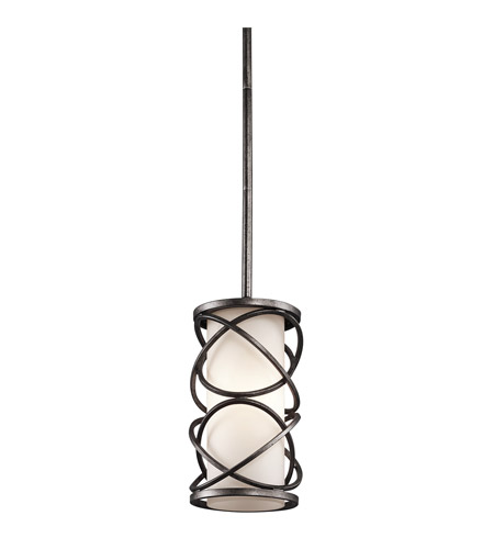 Kichler Lighting Krasi 1 Light Pendalette in Warm Bronze 42467WMZ
