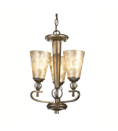 Kichler Lighting Roma Notte 3 Light Mini Chandelier in Sunrise Mist 42468SRM photo