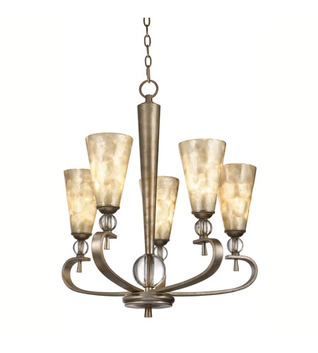 Kichler Lighting Roma Notte 5 Light Chandelier in Sunrise Mist 42470SRM photo