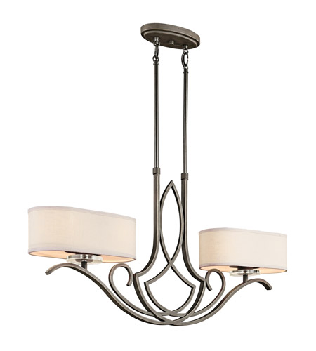Kichler Lighting Leighton 4 Light Island Light in Olde Bronze 42480OZ photo