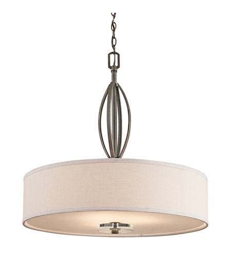 Kichler Lighting Leighton 3 Light Pendant in Olde Bronze 42482OZ photo