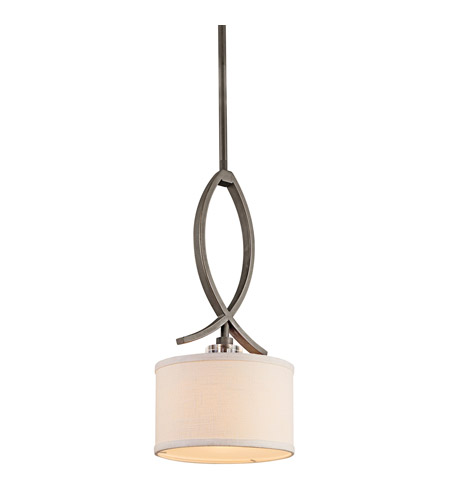 Kichler 42484OZ Leighton 1 Light 8 inch Olde Bronze Mini Pendant Ceiling Light photo