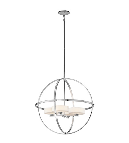 Kichler Lighting Olsay 4 Light Chandelier in Chrome 42506CH