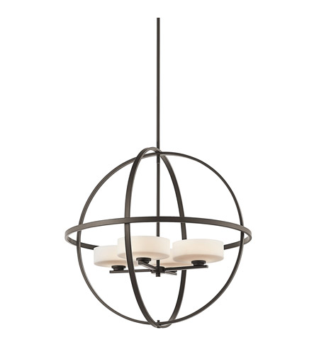 Kichler Lighting Olsay 4 Light Chandelier in Olde Bronze 42506OZ