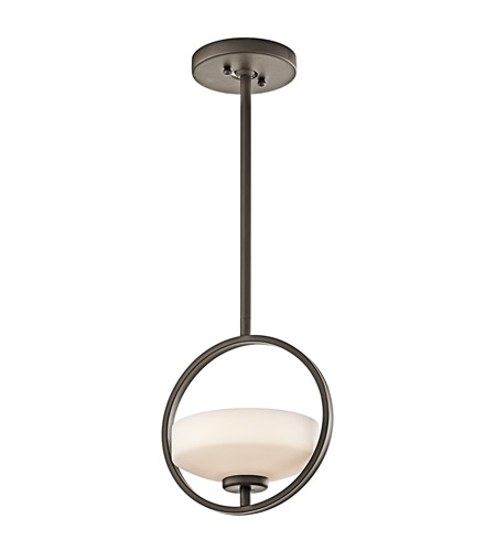 Kichler Lighting Olsay 1 Light Mini Pendant in Olde Bronze 42508OZ