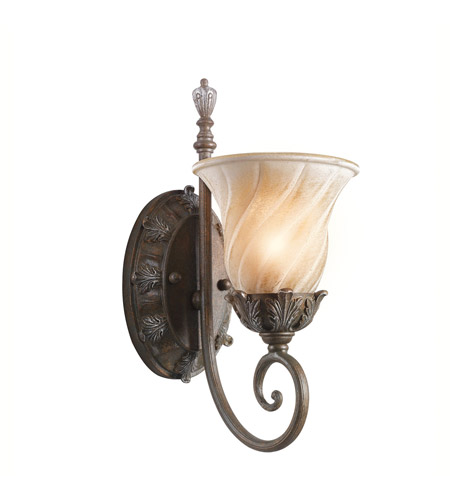 Kichler Lighting Sarabella 1 Light Wall Sconce in Legacy Bronze 42516LZ photo