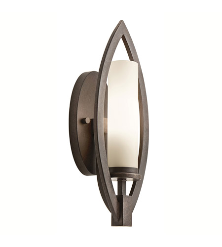 Kichler Lighting Neptune Place 1 Light Wall Sconce in Colton Bronze 42536CTZ photo