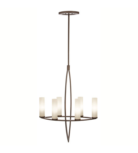 Kichler Lighting Neptune Place 6 Light Chandelier in Colton Bronze 42538CTZ photo