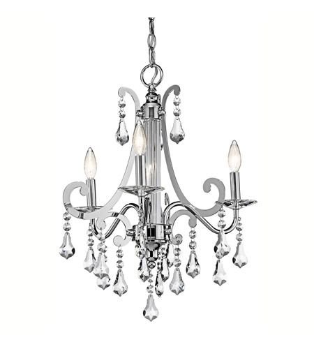 Kichler Lighting Leanora 3 Light Chandelier in Chrome 42544CH