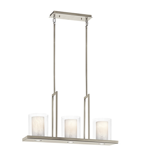 Kichler Triad 6 Light Chandelier in Classic Pewter 42547CLP photo