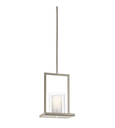 Kichler 42549CLP Triad 2 Light 8 inch Classic Pewter Pendant Ceiling Light photo