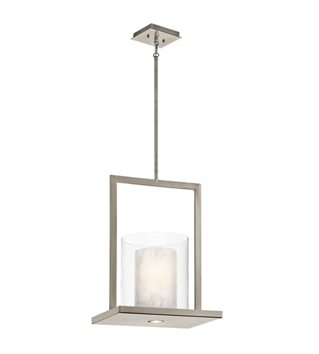 Kichler Triad 2 Light Pendant in Classic Pewter 42550CLP