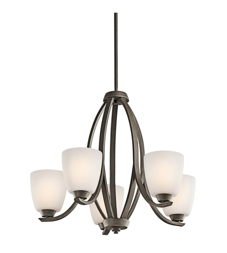 Kichler Lighting Granby 5 Light Chandelier in Olde Bronze 42557OZ photo