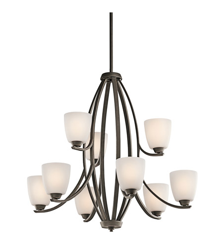 Kichler Lighting Granby 9 Light Chandelier in Olde Bronze 42559OZ photo