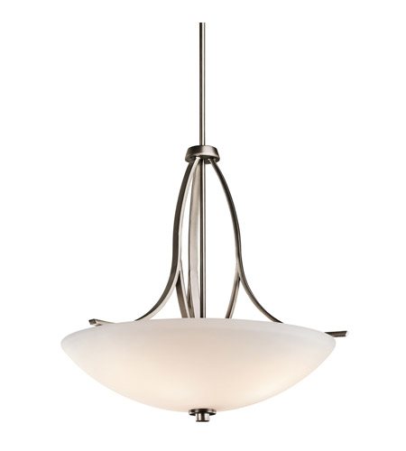 Kichler Lighting Granby 3 Light Inverted Pendant in Brushed Pewter 42561BPT