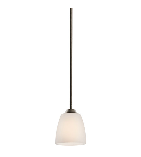 Kichler Lighting Granby 1 Light Mini Pendant in Olde Bronze 42562OZ