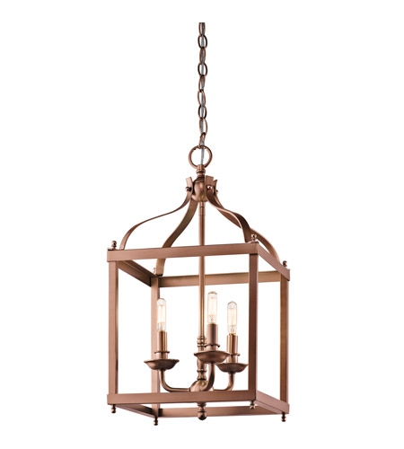 Kichler Larkin 3 Light Foyer Pendant in Antique Copper 42566ACO 42566ACO_v2.jpg