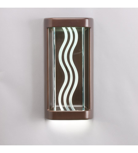 Kichler Lighting Wall Sconce Housing LED Wall Bracket in Olde Bronze (Glass Sold Separately) 42575OZLED