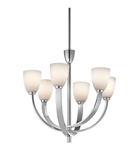 Kichler Lighting Laval 6 Light Chandelier in Chrome 42583CH photo