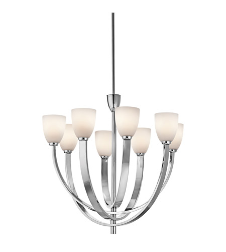 Kichler Lighting Laval 8 Light Chandelier in Chrome 42584CH photo