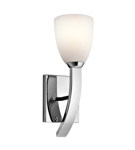 Kichler Lighting Laval 1 Light Wall Sconce in Chrome 42587CH