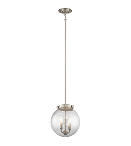 Kichler 42588ni holbrook 2 light 10 inch brushed nickel mini pendant kichler 42588ni holbrook 2 light 10 inch brushed nickel mini pendant ceiling light photo aloadofball Image collections