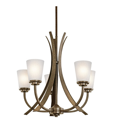 Kichler Lighting Coburn 5 Light Chandelier in Old Iron 42602OI photo