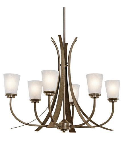 Kichler Lighting Coburn 6 Light Chandelier in Old Iron 42603OI photo