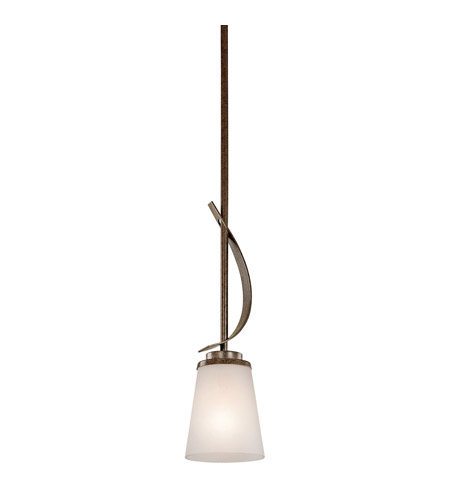 Kichler Lighting Coburn 1 Light Mini Pendant in Old Iron 42608OI