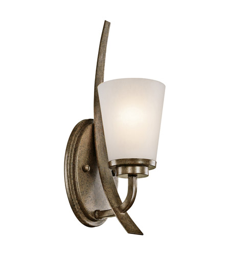 Kichler Lighting Coburn 1 Light Wall Sconce in Old Iron 42609OI