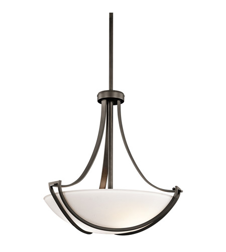 Kichler Lighting Owego 3 Light Pendant in Olde Bronze 42653OZ