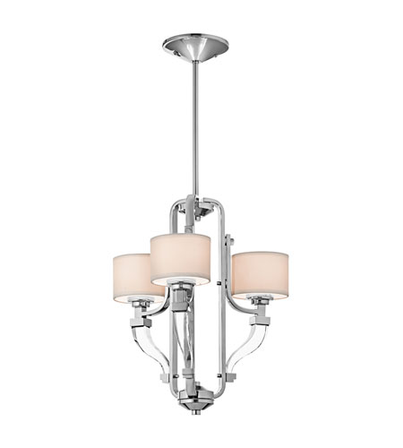 Kichler Lighting Point Claire 3 Light Semi-Flush in Chrome 42661CH