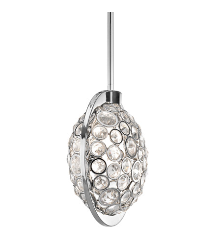 Kichler Lighting Liscomb 3 Light Mini Pendant in Chrome 42664CH photo