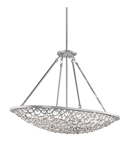 Kichler Lighting Liscomb 10 Light Chandelier in Chrome 42666CH photo