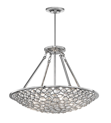 Kichler Lighting Liscomb 6 Light Chandelier in Chrome 42668CH photo