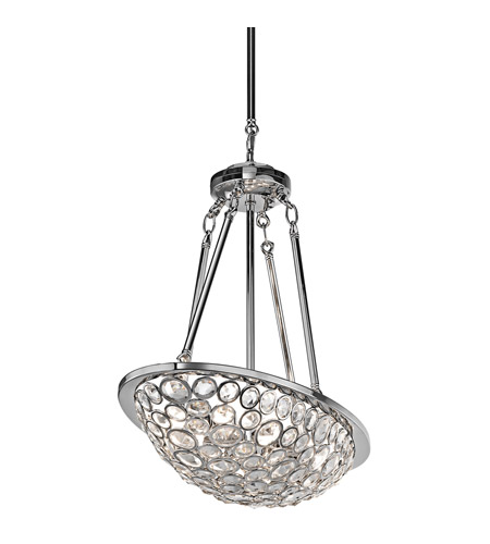 Kichler Lighting Liscomb 8 Light Chandelier in Chrome 42671CH