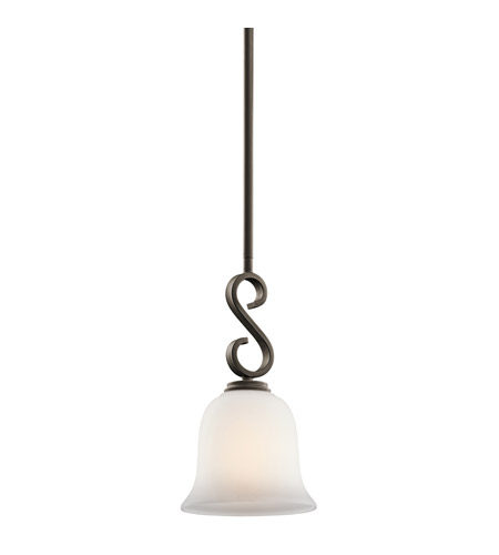 Kichler Lighting Sherbrooke 1 Light Mini Pendant in Olde Bronze 42677OZ