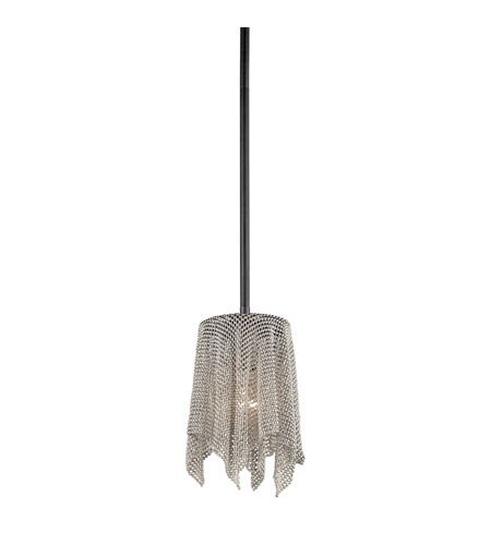 Kichler Lighting Signature 1 Light Mini Pendant in Brushed Nickel 42679NI