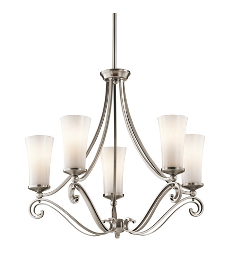 Kichler Lighting Wickham 5 Light Chandelier in Classic Pewter 42701CLP photo