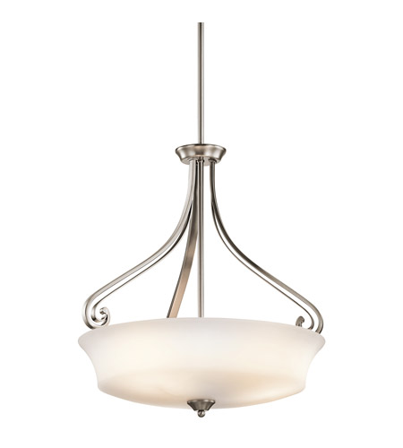 Kichler Lighting Wickham 3 Light Inverted Pendant in Classic Pewter 42706CLP