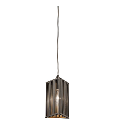 Kichler 42738OZ Signature 1 Light 6 inch Olde Bronze Mini Pendant Ceiling Light photo