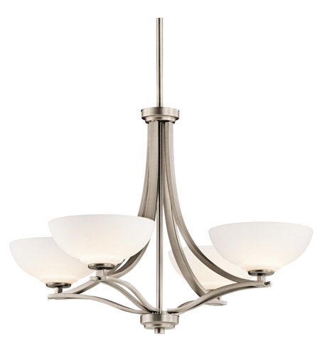 Kichler Lighting Chatham 4 Light Chandelier in Antique Pewter 42760AP photo