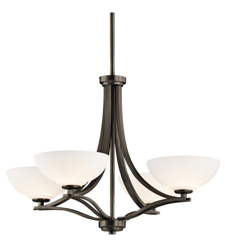 Kichler Lighting Chatham 4 Light Chandelier in Olde Bronze 42760OZ photo