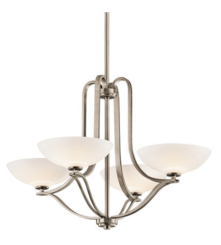 Kichler Lighting Chatham 4 Light Chandelier in Antique Pewter 42761AP photo