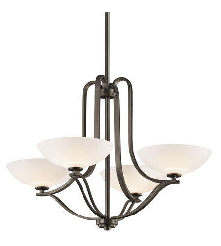 Kichler Lighting Chatham 4 Light Chandelier in Olde Bronze 42761OZ photo
