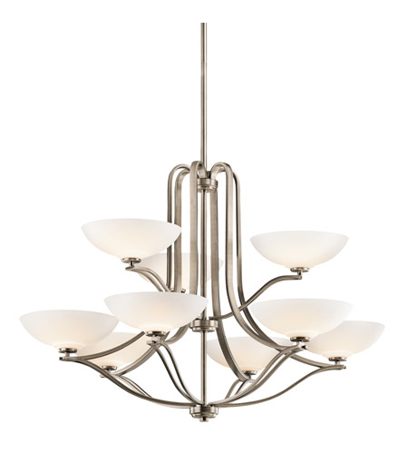 Kichler Lighting Chatham 9 Light Chandelier in Antique Pewter 42762AP photo